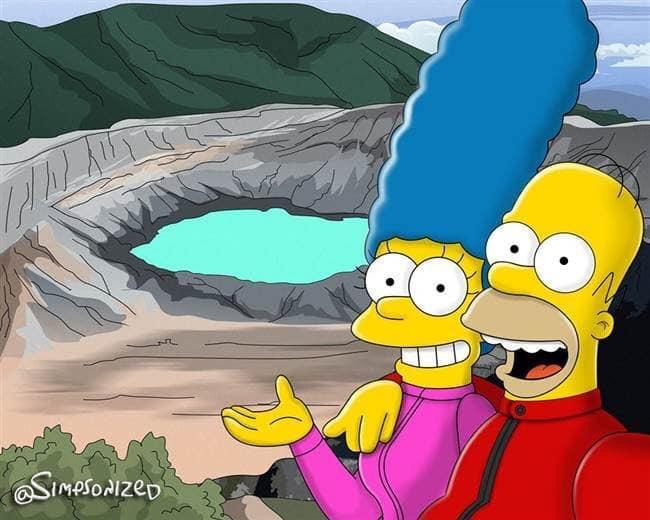Capítulo #669 de Los Simpsons revela las aventuras de esta familia en Costa Rica.