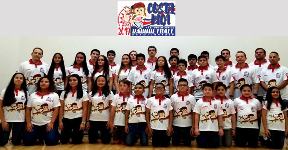 Mil partidos tendrá el Campeonato Mundial Junior de Raquetbol en nuestro país.