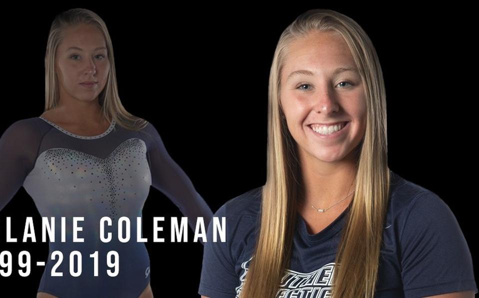 Muere gimnasta Melanie Coleman tras accidente en entrenamiento.