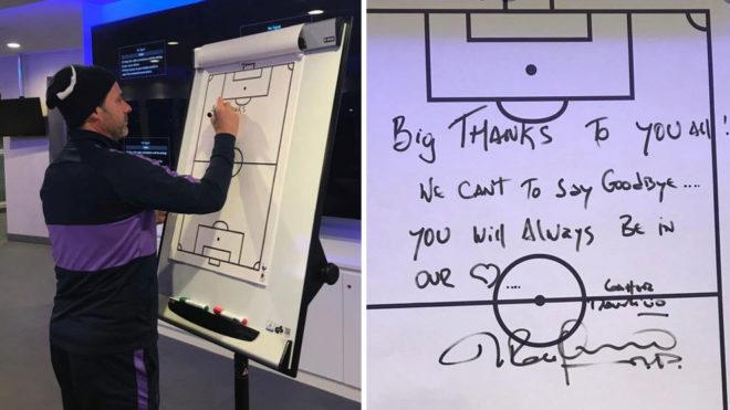 Mauricio Pochettino dejó mensaje de despedida a jugadores de Tottenham