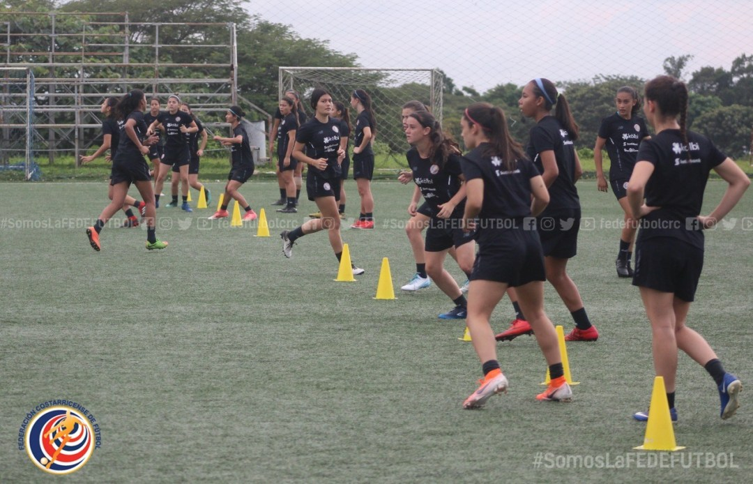 Sub 20 femenina participará de Torneo Amistoso UNCAF en Guatemala.