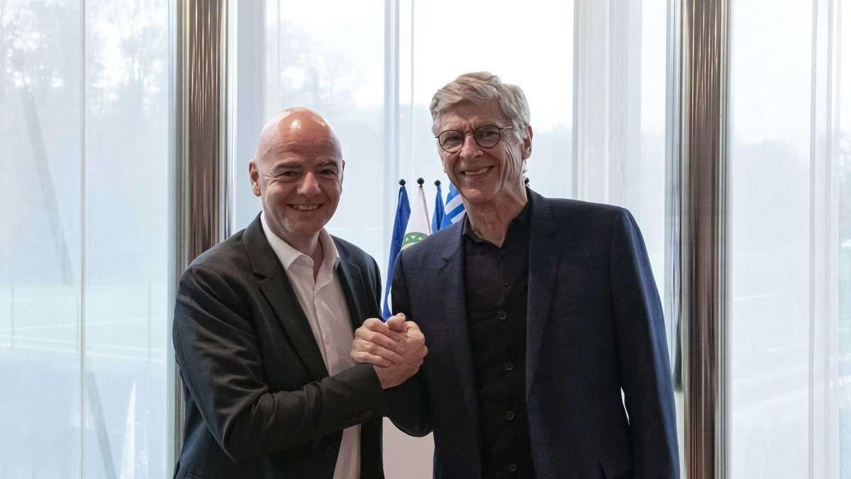 Arsene Wenger fue nombrado como  director del departamento de desarrollo del fútbol de la FIFA.