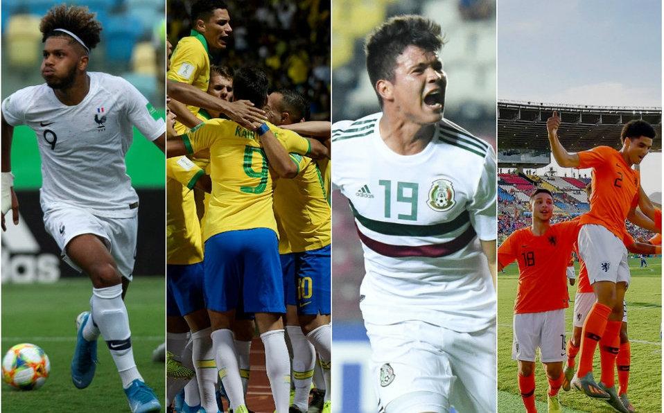 Mundial Sub 17 | Brasil vs Francia y México vs Holanda se preparan para las semifinales.