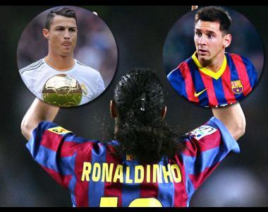 """Willian: """"Ronaldinho fue el mejor de  todos. Mejor que Messi y Cristiano""""."""