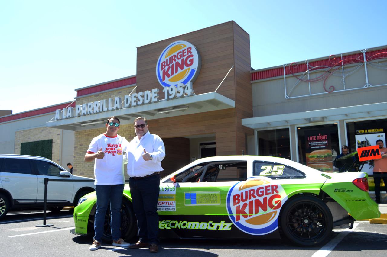 Escudería Burger King correrá en la primera edición del Motorshow