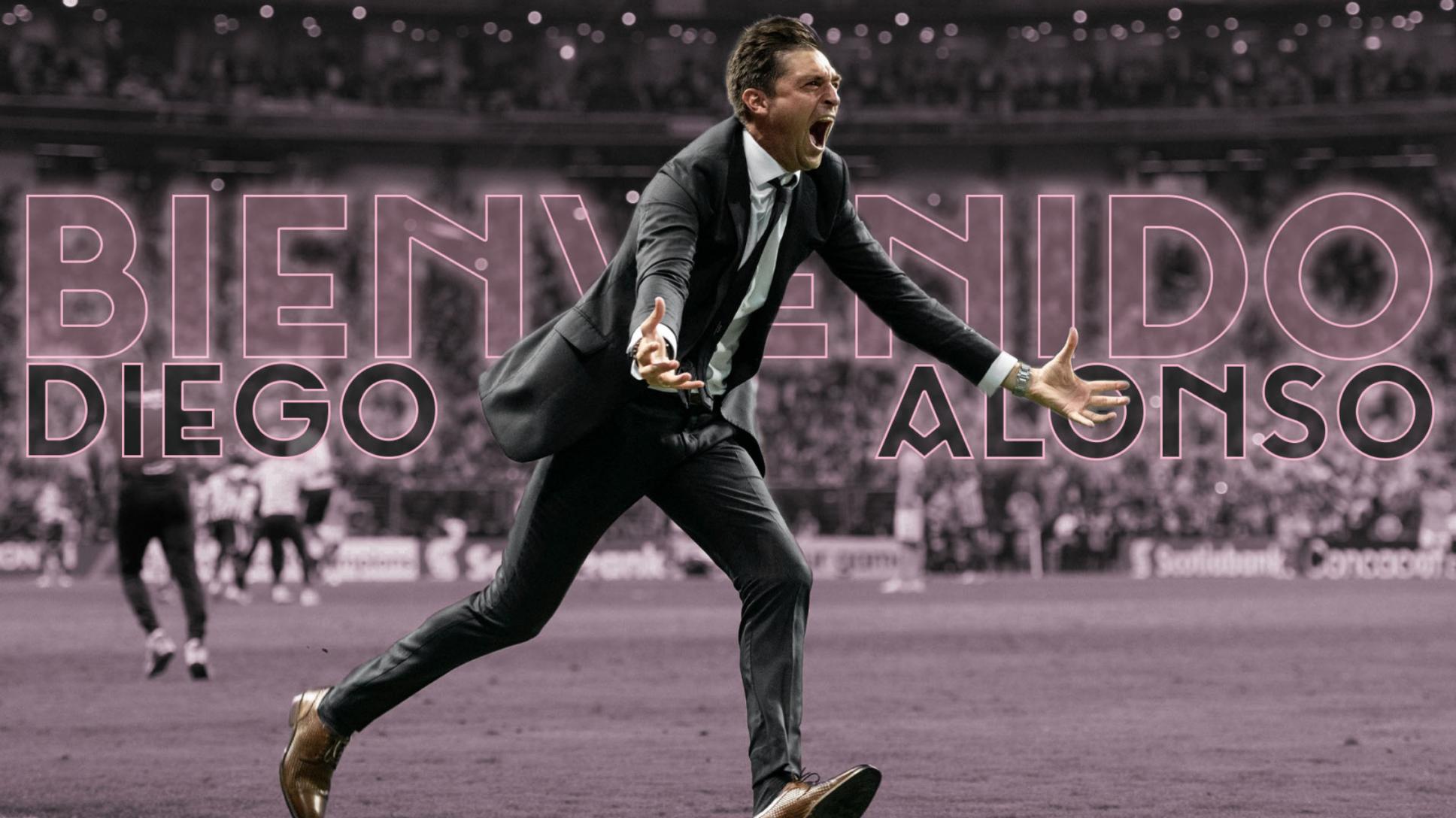 Diego Alonso nuevo técnico del Inter de Miami