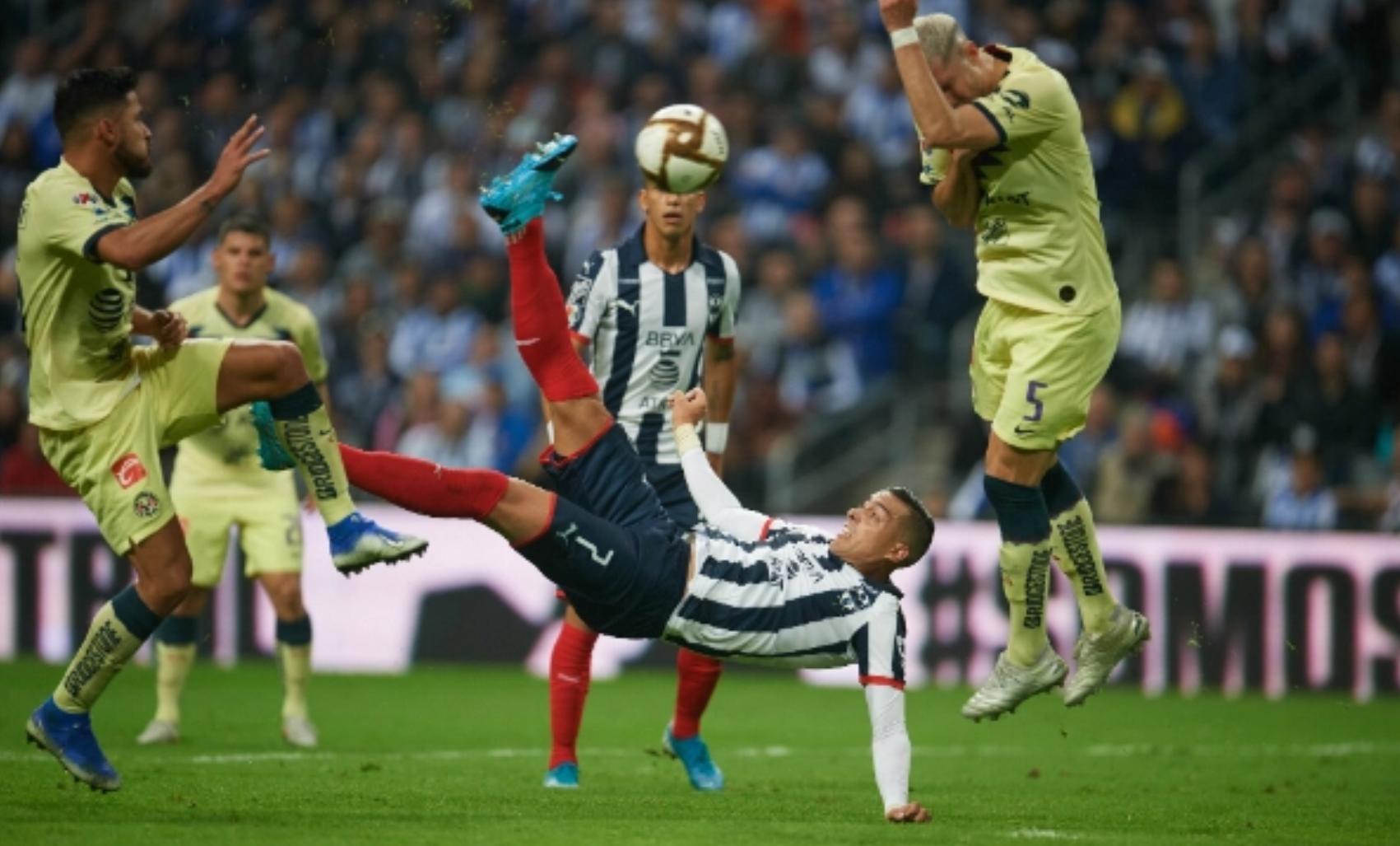 ¡Con golazo de chilena! Monterrey derrota al América en Final de Ida.