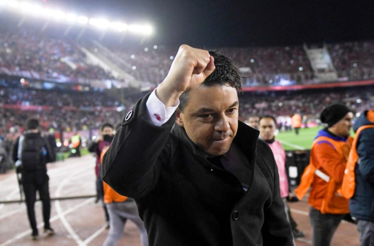 Marcelo Gallardo fue elegido por segundo año consecutivo como el mejor entrenador de Sudamérica. Guimaraes fue octavo.