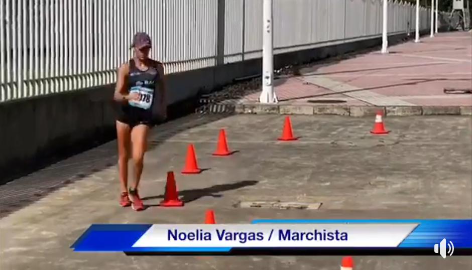 Noelia Vargas cumplió con el pacto.