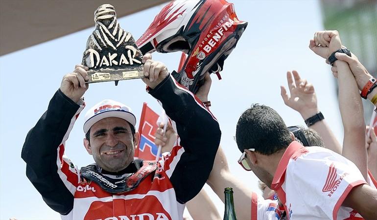 Falleció piloto portugués Paulo Gonçalves luego de sufrir accidente en Rally Dakar