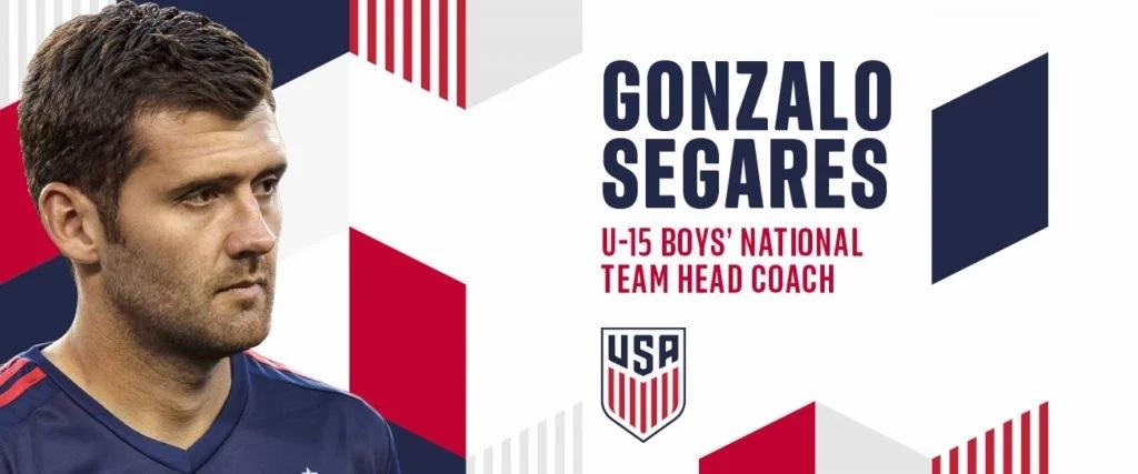 El costarricense, Gonzalo Segares, fue nombrado técnico de la Selección Infantil de Estados Unidos.