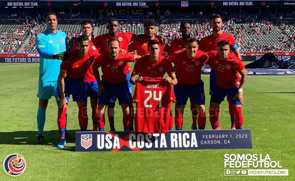 Costa Rica inicia el año perdiendo y con dudas, ante una joven selección de Estados Unidos.