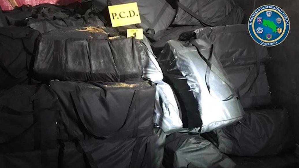 ¡PCD realiza el decomiso de droga más grande en la historia de Costa Rica!
