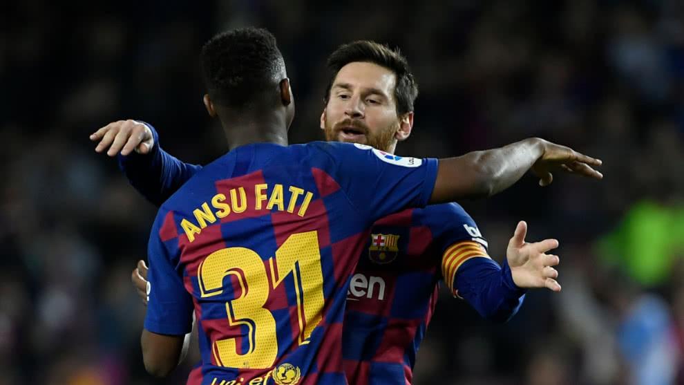 Barcelona derrotó a Levante y escolta al Real Madrid en la Liga de España.