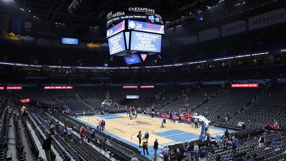 La NBA suspende su temporada por el coronavirus