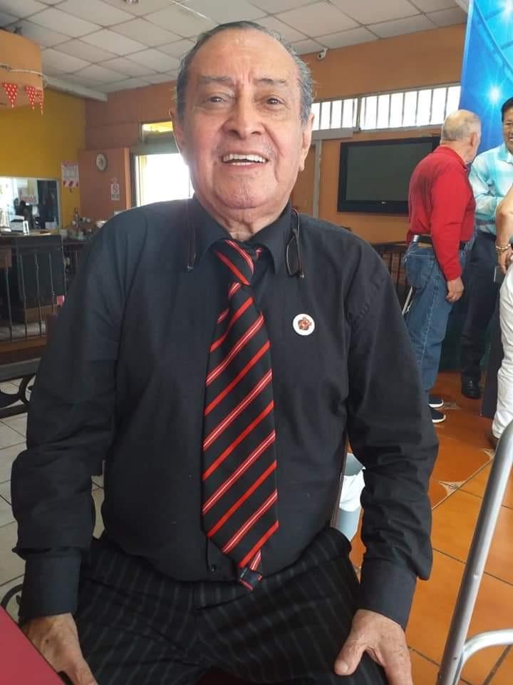 """Don Eduardo Herrera """"Pescado"""", falleció este jueves a los 77 años."""