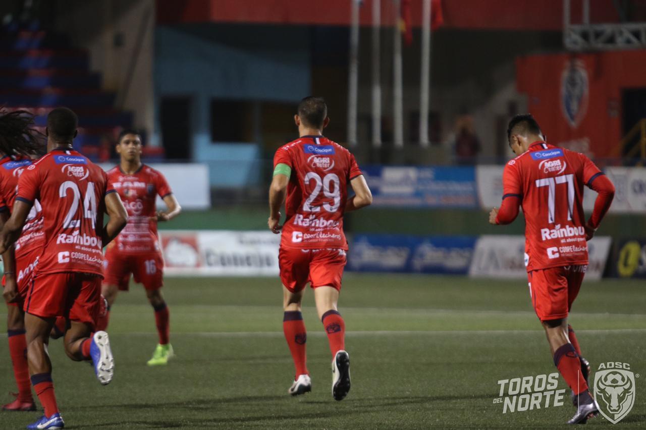 """Los """"Toros"""" pierden bravura y apenas rescataron un punto en casa ante Limón FC."""