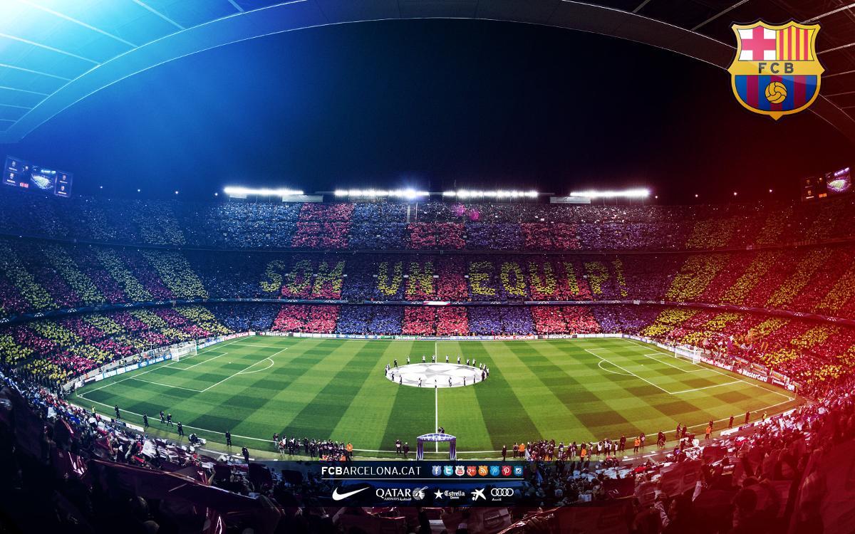 El Barcelona cede el nombre de su estadio a la lucha contra la COVID-19.