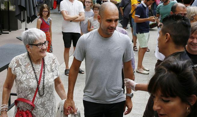 Falleció la mamá de Pep Guardiola por coronavirus.