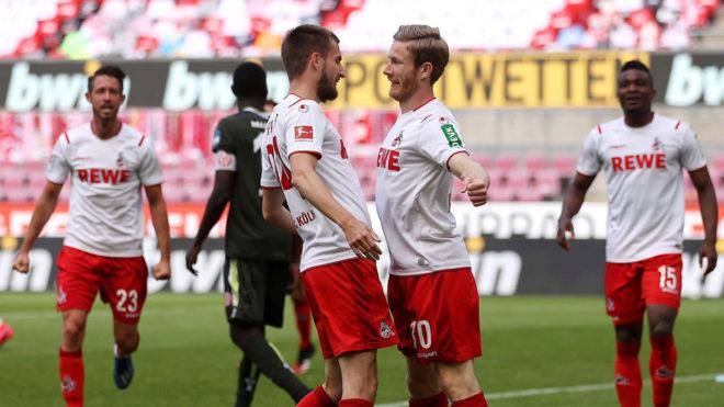 Bundesliga: Mainz reaccionó en el complemento y sacó un punto de la cancha del Colonia.