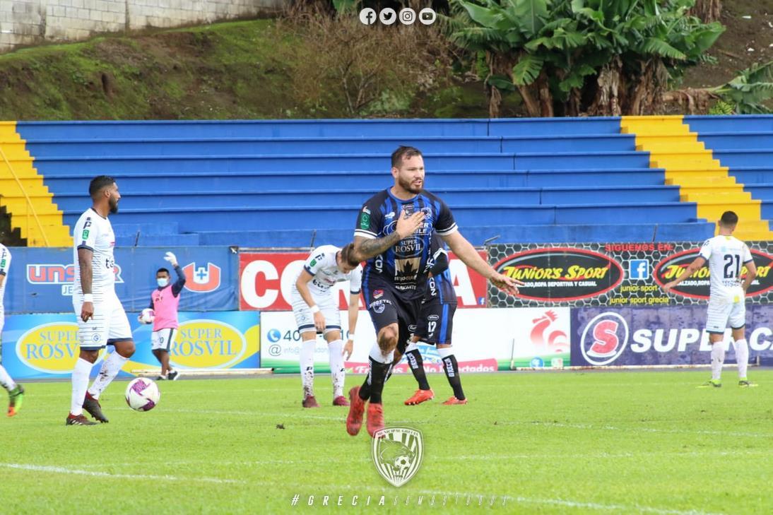 """Grecia """"frenó en seco"""" a Guadalupe FC en su intención de mantenerse en zona de clasificación."""