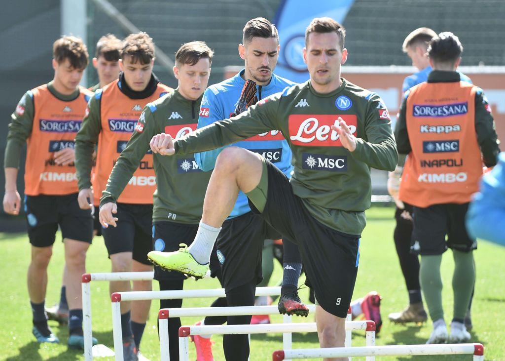 Napoli de la Serie A anunció su regreso a los entrenamientos.
