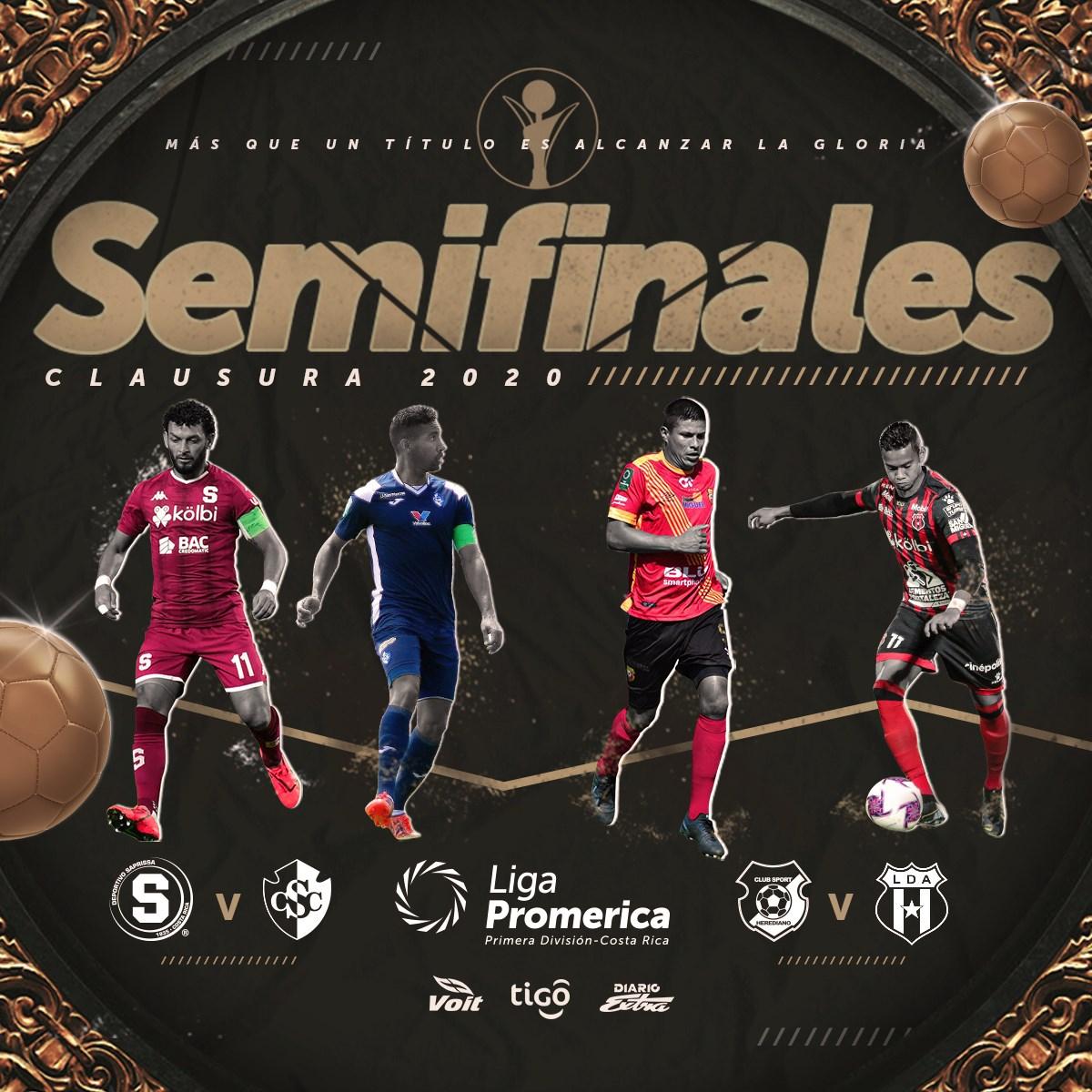 Definida la programación de la ida y vuelta de las semifinales del Clausura 2020.
