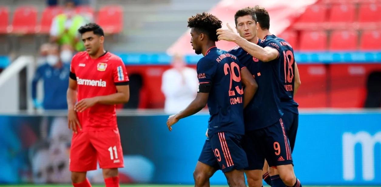 Bayern Múnich goleó al Leverkusen y se acerca a su octavo título al hilo.