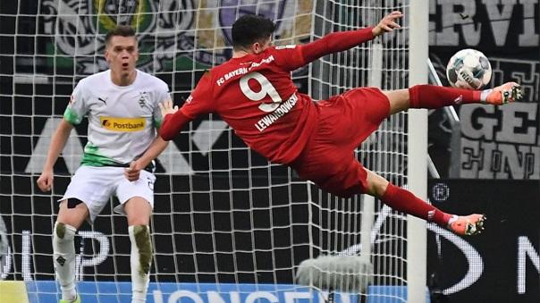 Bayern Múnich cada vez más cerca de su octavo cetro al hilo.