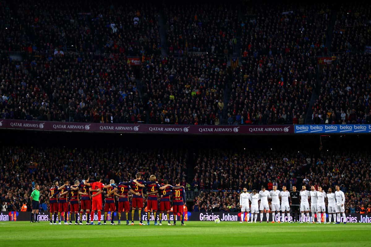 Liga Española guardará un minuto de silencio en todos los partidos en memoria de las víctimas del coronavirus.