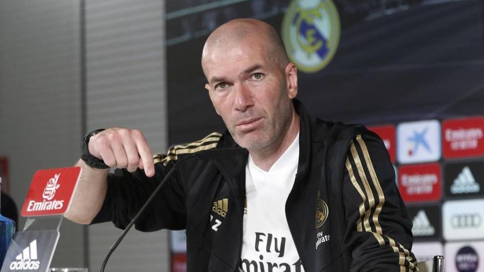Zidane: «No me gusta jugar sin público, pero vamos a darlo todo sin nuestra afición»