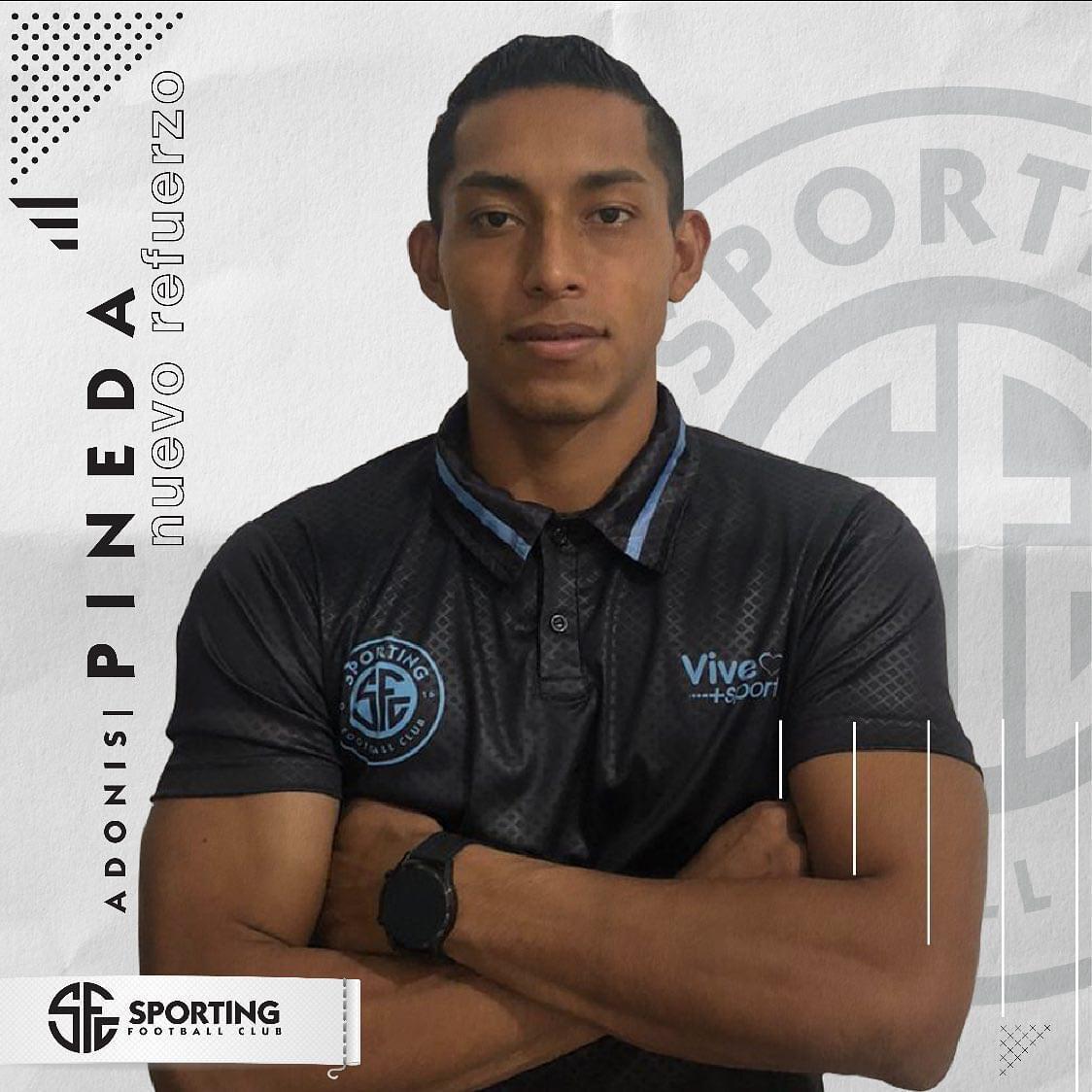 Adonis Pineda reforzará a Sporting FC por un año.