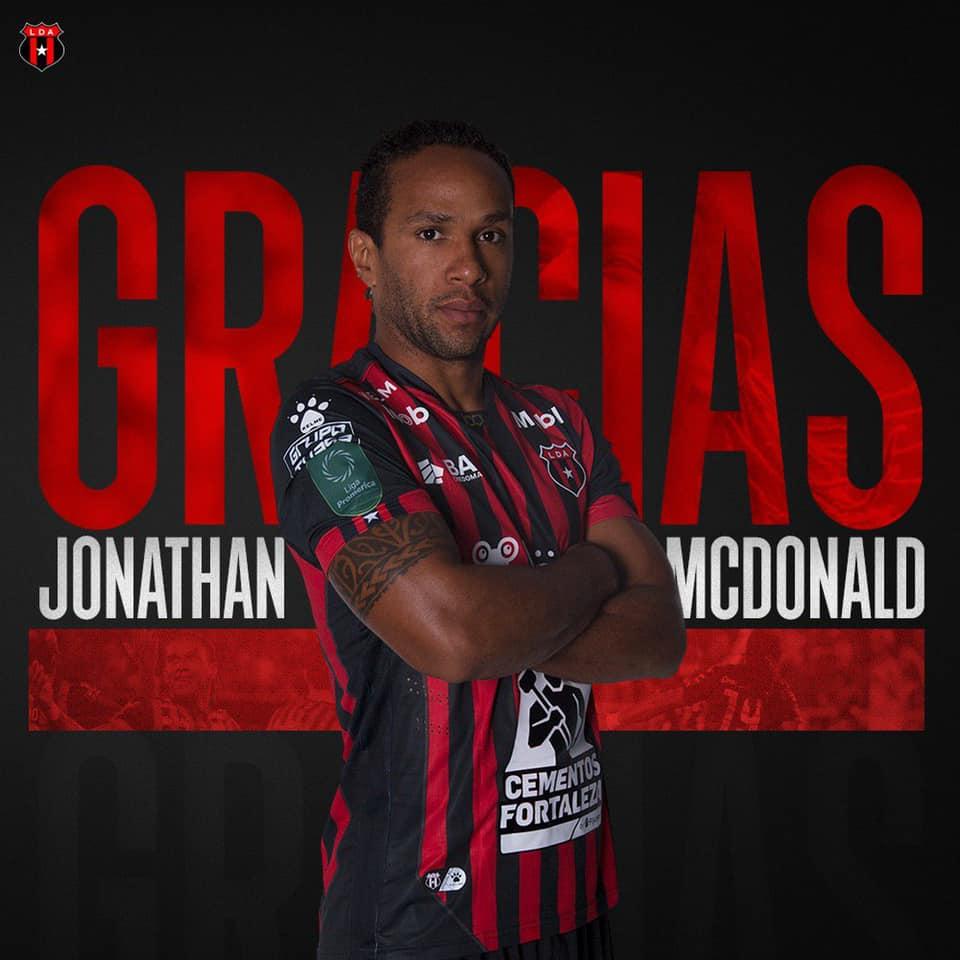 ¡Fin del ciclo! Alajuelense y McDonald finiquitaron contrato.
