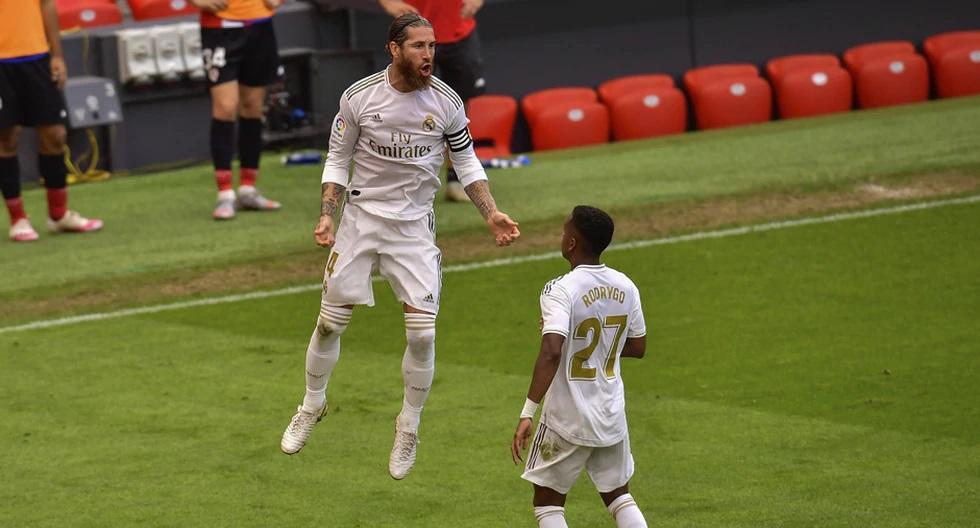 Real Madrid derrotó al Athetic de Bilbao y se acerca al cetro.