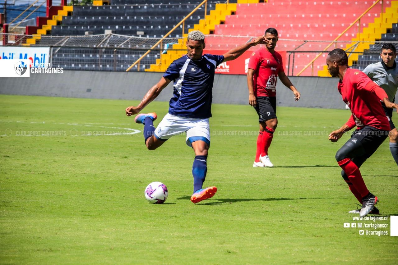 Alajuelense derrotó a Cartaginés en partido de pretemporada en el Morera Soto.