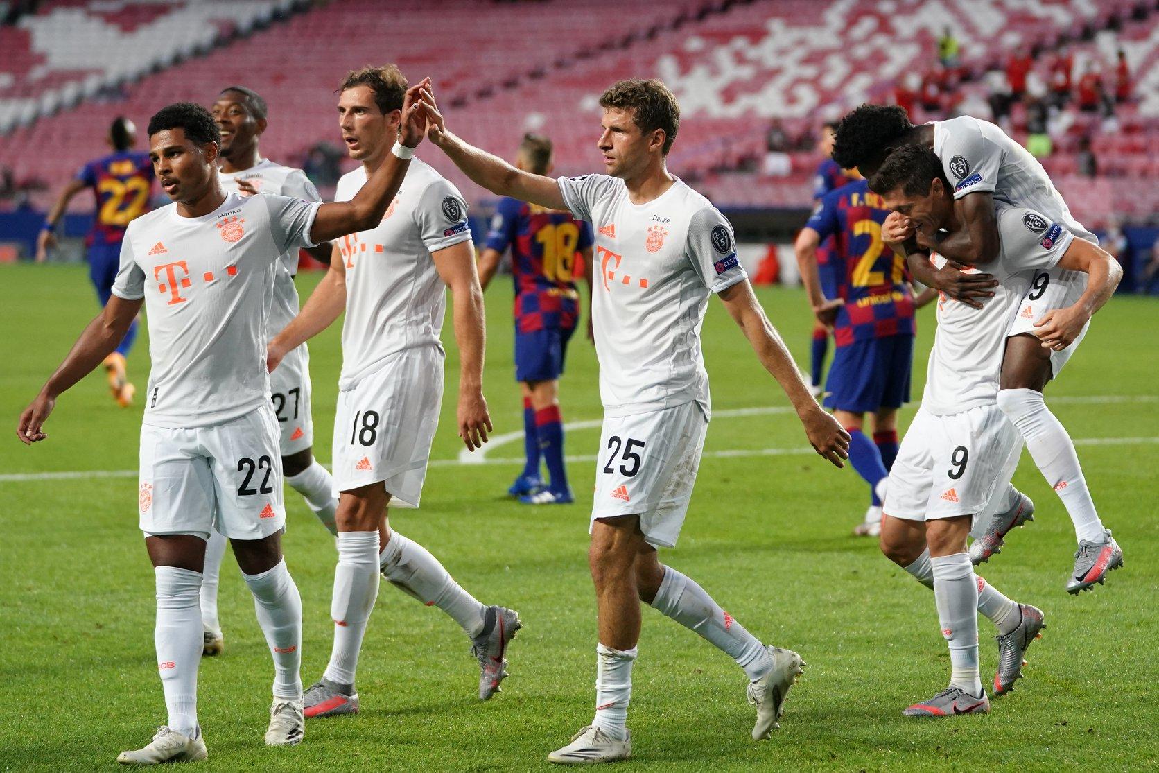 """¡Ocho fueron suficientes! Bayern aplastó, eliminó y redujo a la mínima expresión al """"todopoderoso"""" Barcelona."""