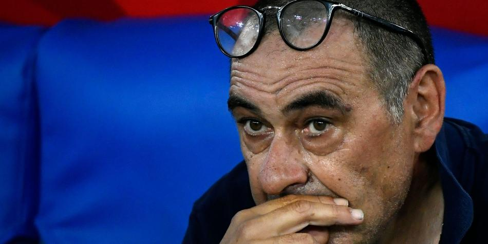 Tras fracaso en la Champions, Juventus destituye al técnico Sarri.