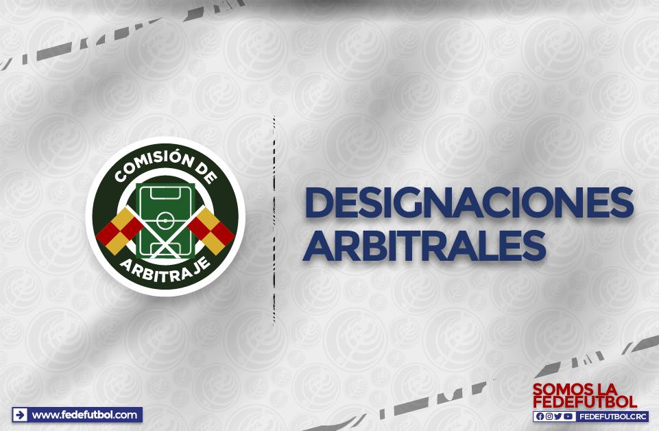 Listos los cuartetos arbitrales para la jornada inaugural del Apertura 2020.