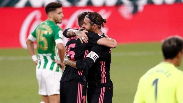 Real Madrid logró su primera victoria de la temporada venciendo a domicilio al Betis.