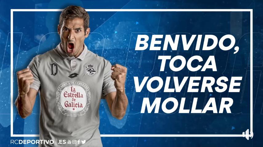 Deportivo La Coruña oficializa la contratación de Celso Borges.