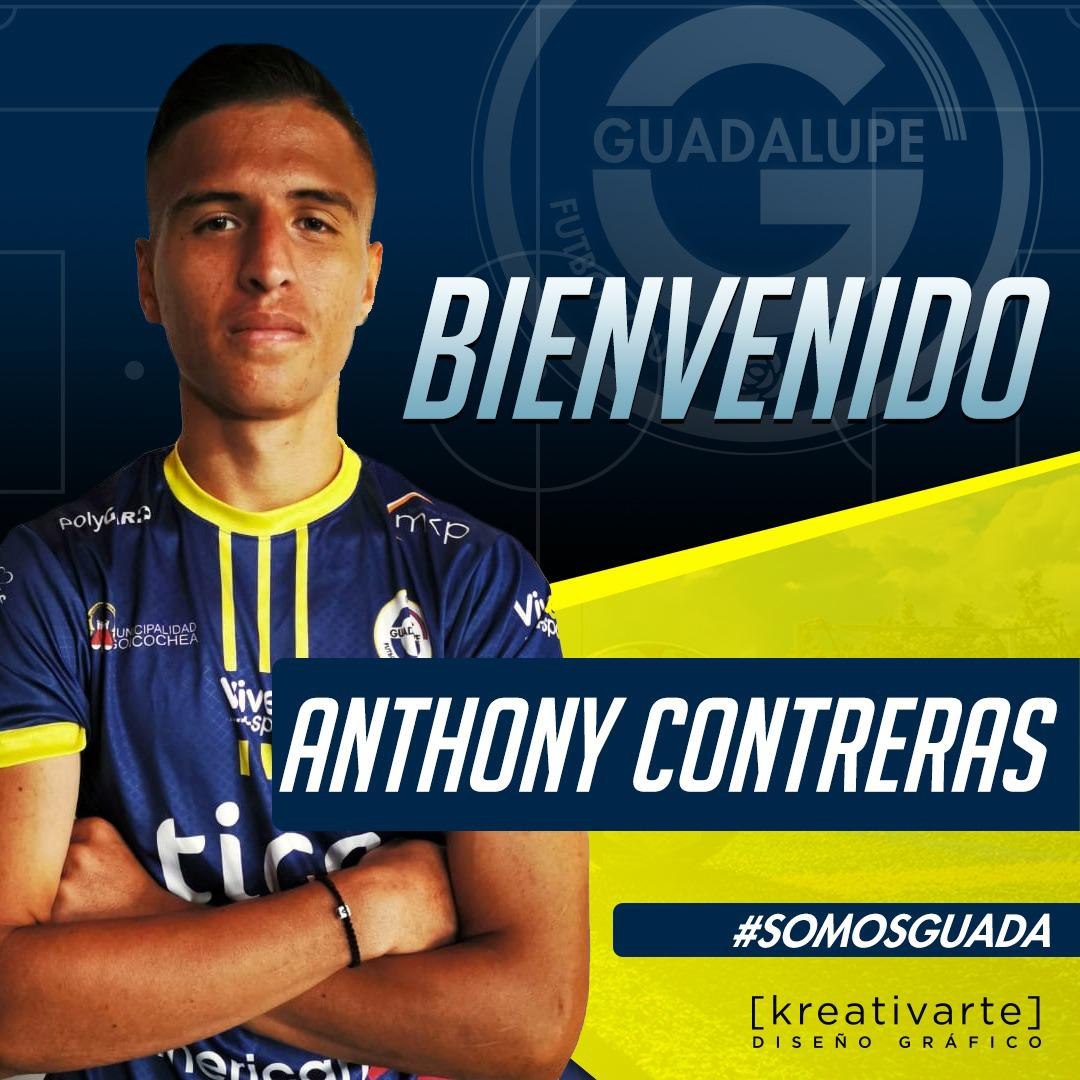 Herediano cede a Anthony Contreras a Guadalupe FC.