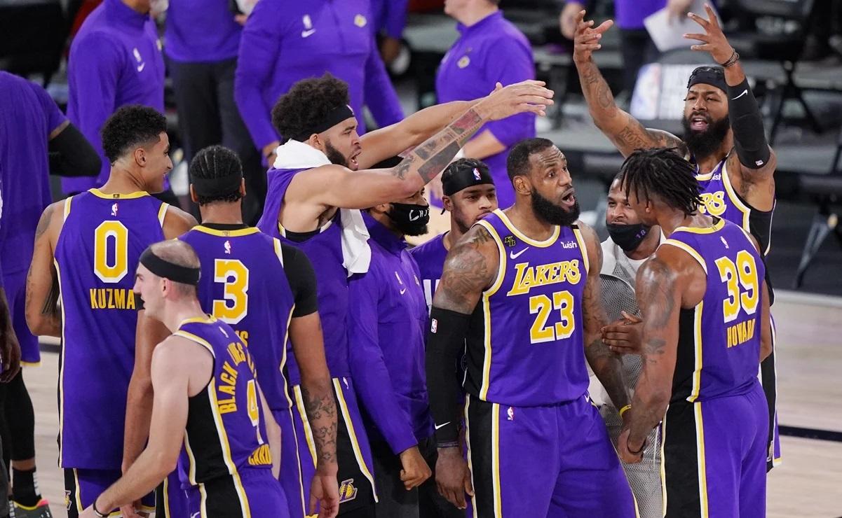NBA: Tras 10 años, los Lakers de Los Ángeles clasifican a las finales.