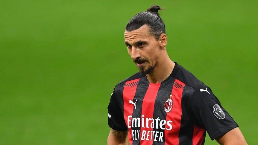 El Milan informó que Zlatan Ibrahimovic tiene coronavirus.