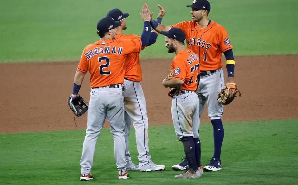 ¡Habrá sétimo partido! Los Astros de Houston le empataron la serie a los Rays de Tampa.