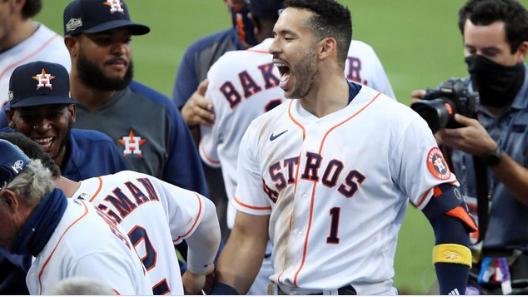 Astros vencen nuevamente a los Rays de Tampa y obligan al juego 6 en la Liga Americana.
