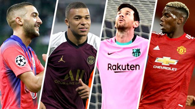 Barcelona, Manchester United, PSG y Chelsea se lucieron en la segunda jornada de la Champions.