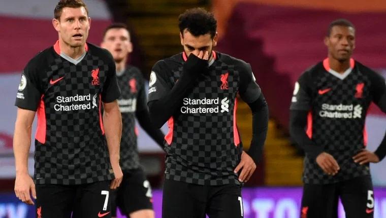 Aston Villa aplasta 7-2 al Liverpool, vigente campeón de la Premier.