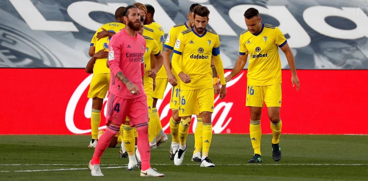 Real Madrid sufrió una derrota histórica con el ascendido Cádiz en la LaLiga.