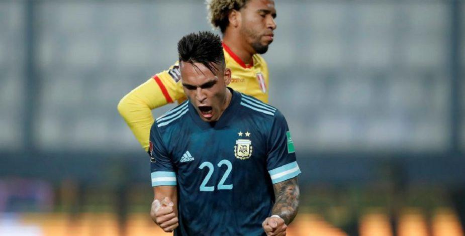 Argentina se hizo fuerte ante Perú en Lima y sigue firme en su camino hacia Catar 2022.
