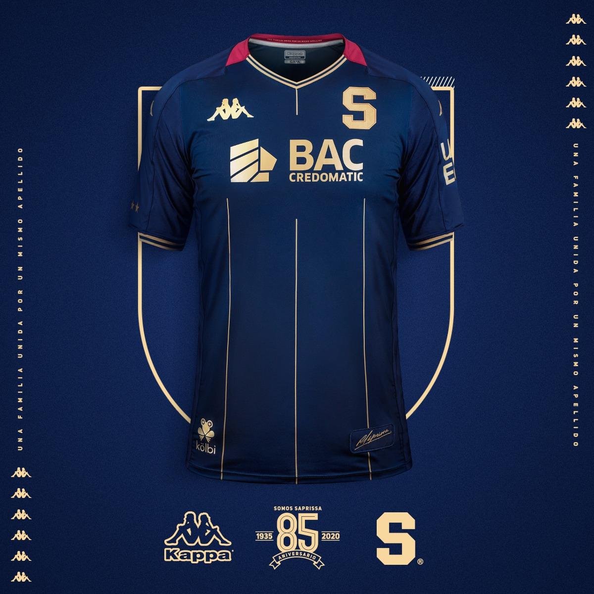Saprissa presentó su tercera indumentaria para la temporada 2020-2021.
